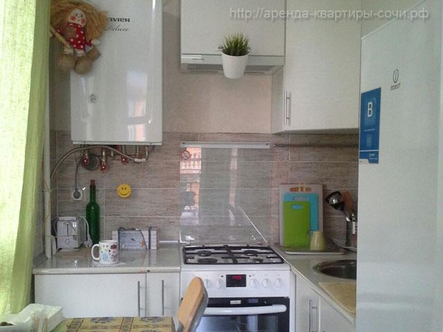Кухня 2, квартира 35м2, Сочи-Монако-Клуб, ул. Просвещения, 148