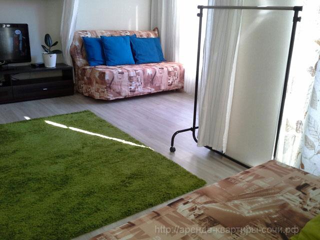 Общий вид 3, квартира 35м2, Сочи-Монако-Клуб, ул. Просвещения, 148