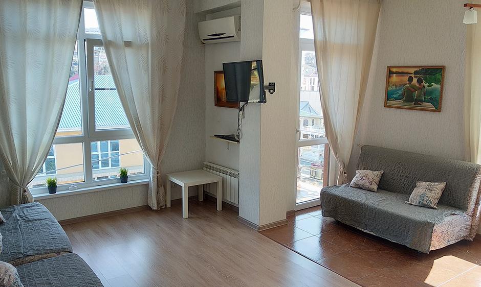 Сочи-Монако-Клуб квартира с видом на море 35м2 5 этаж